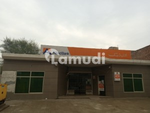 22.44 Marla Building For Sale Rented To Allied Bank