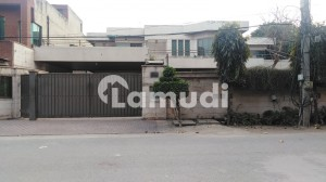 2 Kanal Double Storey House For Rent With 2 Kanal Parking Space In G1 Block Of Johar Town Phase 1 Lahore