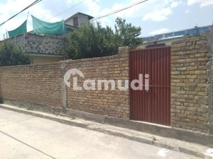 11 Marla South Open Plot Covered By Boundary Wall
