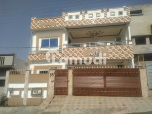 Dobule Storey House For Sale In C Block Soan Garden Islamabad