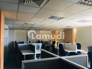 5000 Sq Ft Semi Furnished Office Space On Rent In Executive Office Project Of Sharah  E Faisal