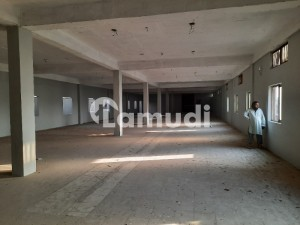 Factory 30000 Sqft Covered With 50kva Electricity 8 Pound Gass Connection Vacant