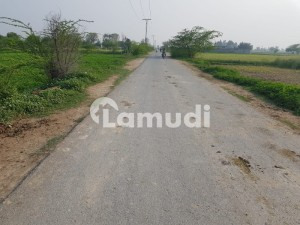 4 Kanal Plot For Farm House Is Available For Sale In Gated Society On Bedian Road