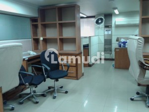 We Offer 2500sq Ft Furnished Office 2nd Floor In G9