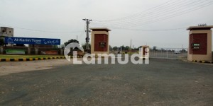 Commercial Plot For Sale In AlKarim Town Sahiwal