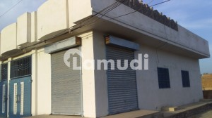 Corner House For Sale With Shop