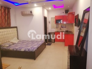 Furnish Flat For Rent At Moon Market Iqbal Town