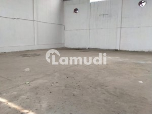I9 Ware House 14000 Sq Feet With Offices Best Location Huge Parking For Long  Heavy Vehicles Good Roof Height For Extra Storage Capacity Best For Storage Near To Main Dry Port Real Pics Attached