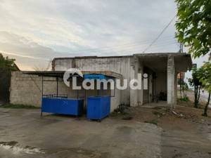 8 Marla Commercial Plot Including 2 Already Build Shop For Sale