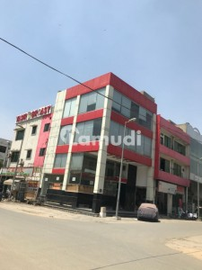 Defence 4 Marla Commercial Corner Plaza All Floors Rented Already In DHA Lahore Block H