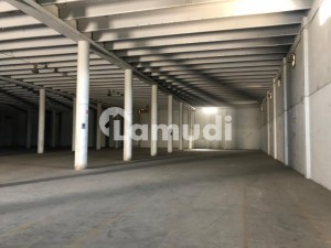 60000 Sq Ft Warehouse Available For Rent On Main Multan Road With 200kva Transformer