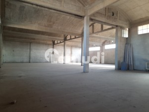 Warehouse Storage Space 22000 Sq Ft Covered With 50KVA Electricity Connection Vacant For Rent At Main Multan Road