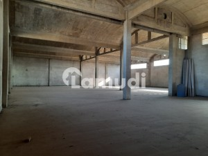 Factory 22000 Sqft Covered With 50KVA Electricity Connection Vacant For Rent At Main Multan Road