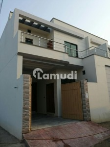 Corner Brand New Double Storey House Available At Prime Location