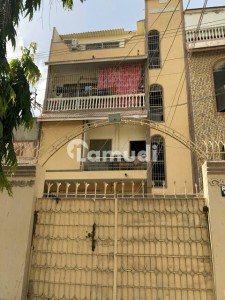 House Ground Plus 3 80 Square Yards Extra Land 100 Feet Main Road Total 16 Rooms