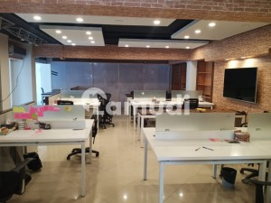 Property Connect Offer's Fully Furnished Corporate Office 1300 Sq Ft In E-11 Markaz With Reserved Parking