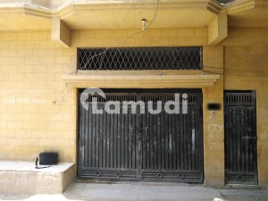 220 Yard West Open Double Storey Bungalow For Sale In M.b Shoro Hyderabad
