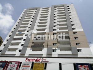 Brand New Emerald Residency Flat Is Up For Sale Position In 6 Month Opposite Dollmen Mall Tariq Road