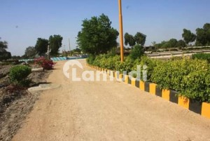 A Corner Residential Plot For Sell  A One Aleez Garden City