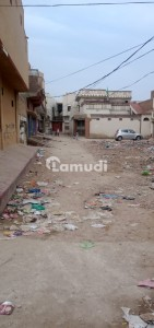 A Commercial 3 Side Corner Plot for Sell  Afzal shah town phase 1