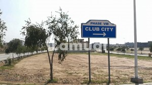 2 Kanal Park Facing Plot in Bahria Club City Rawalpindi