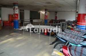 Double Storey Commercial Hall Is Available For Rent