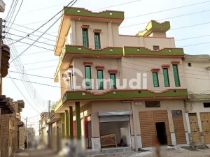 3 Marla Commercial House With 3 Shop Duoble Story House