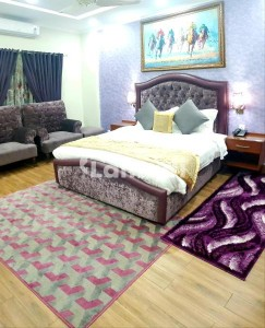 Two Bedrooms Furnished Apartment With Lounge And Kitchen
