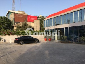 2 Kanal And 2 Marla Hot Location Commercial Plaza For Rent and Sale Garden Town Aibak Block