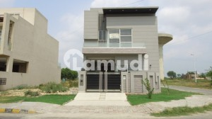 5 Marla Brand New Corner House For Sale In Bankers Avenue Cooperative Housing Society Lahore