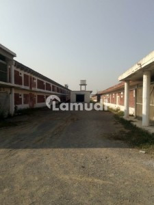 25 Kanal Land With Full Control Shed