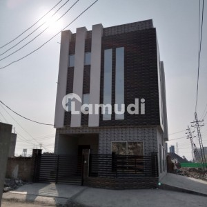 4000 Sq Ft New Building Available For Rent At Very Hot Location At Main 200 Ft Road Opposite Emporium Mall