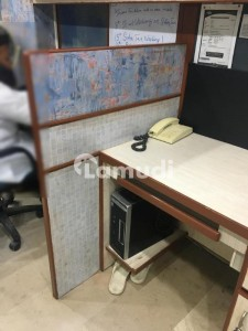 1200 Sq ft  Furnished Office For Rent At  Shaheed Millat Road