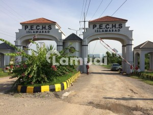 14 Marla Commercial Plot Available In PECHS Near To Top City New Airport Islamabad