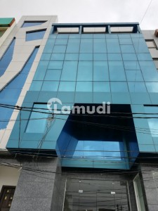 Brand New 200 Yards Office Building Available On Rent