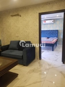 1 Bed Brand New Furnished Apartment For Rent In Bahria Town Lahore