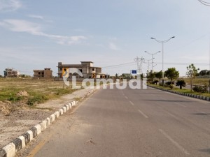 1 Kanal Residential Plot For Sale On Main Boulevard Block Q New City Phase 2 Wah Cantt