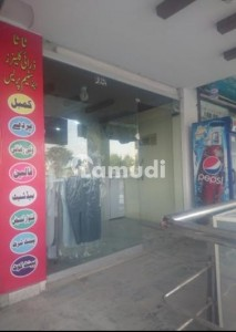 Ground Floor Shop For Rent In E-11/2