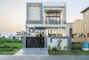 Proper Double Unit 5 Marla Modern Designer Design House For Sale