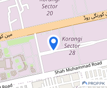 14400  Square Feet Industrial Land Situated In Korangi For Rent