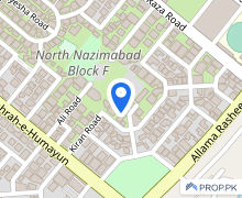 North Nazimabad Commercial Plot Sized 7650  Square Feet Is Available
