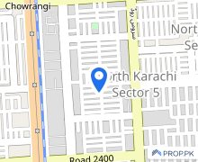 In North Karachi Commercial Plot For Sale Sized 13050  Square Feet
