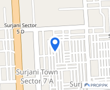 7A Main Road Facing Commercial Shops Like A Showroom Available In Surjani Town