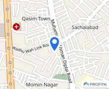 Centrally Located Residential Plot In Qasimabad Is Available For Sale