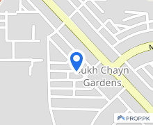 10 Marla Upper Portion For Rent In Sukh Chayn Gardens