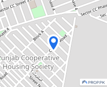 Ideally Located Residential Plot Of 1 Kanal Is Available For Sale In Punjab Coop Housing - Block B