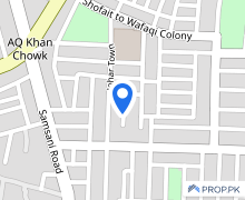 Centrally Located Residential Plot In Johar Town Is Available For Sale