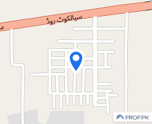 2250  Square Feet Residential Plot For Sale In Beautiful Sialkot Road
