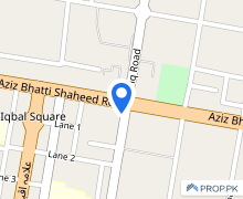 Shop In Aziz Bhatti Shaheed Road For Rent