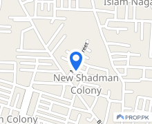 1125  Square Feet House Available For Rent In New Shadman Colony